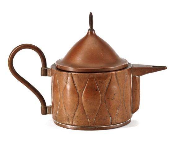 rare teapot by joseph maria olbrich
