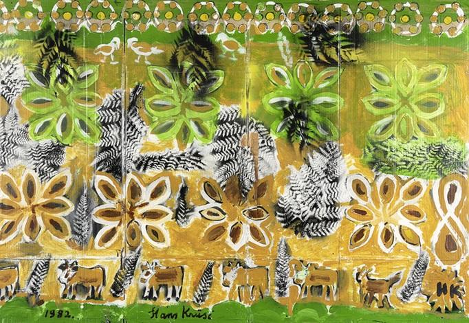 Garten Eden By Hans Krüsi On Artnet