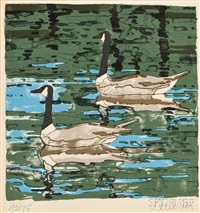 canada geese by neil welliver