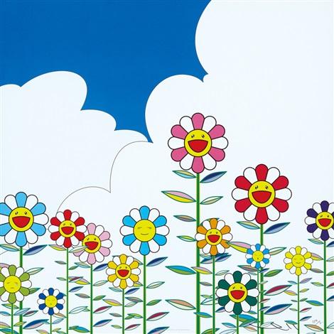 flowers by takashi murakami