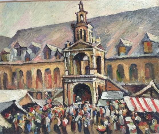 place de la calande à rouen by pierre dumont on artnet