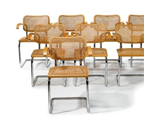 Swell Eight Cesca Dining Chairs By Marcel Breuer On Artnet Pdpeps Interior Chair Design Pdpepsorg