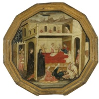 the montauri birth tray by bartolommeo di fruosino