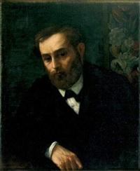 portrait présumé d'eugène manet by alphonse legros