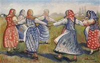 a dance by nikolai mikhailovich rodionov