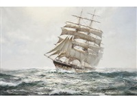 clearing - the middlesex by montague dawson