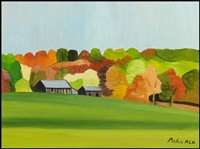 beginning of fall by claude picher