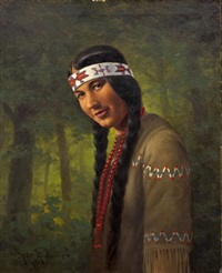 before the tribe by robert ottokar lindneux