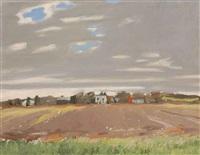 fallow field by fairfield porter