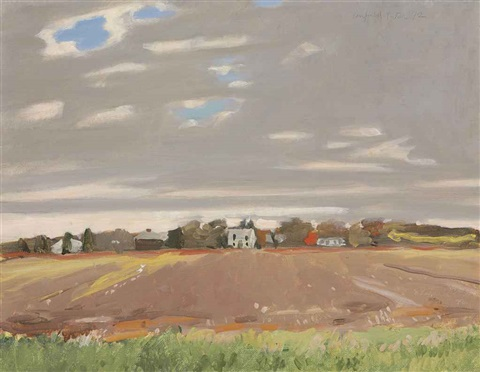 fallow field by fairfield porter