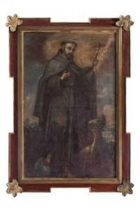 san francisco de asís by mexican school (17)