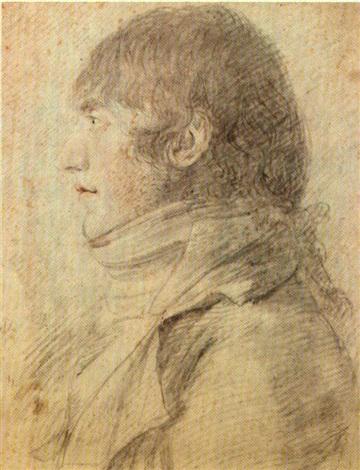 ritratto di uomo visto di profilo by andrea appiani