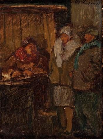an der abendkasse by alexander von kubinyi
