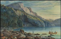 setting camp, lake nipigon by william wallace armstrong
