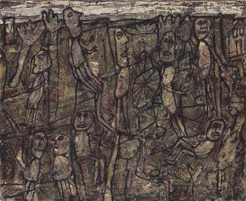 affaires et loisirs (business and leisure) by jean dubuffet