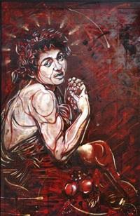 baccho peinture aérosol by c215