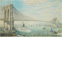 new york and brooklyn bridge (bridge no. 1) by joseph koehler