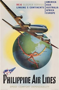 philippine air lines by posters: planes
