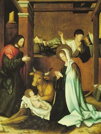 the nativity by master of the seyfriedsberger altar