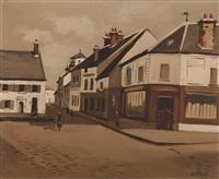 rue de village by robert humblot