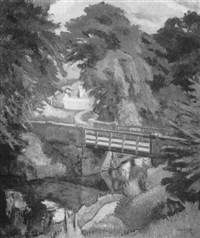 white gates, barrachnie, scotland by ian grant