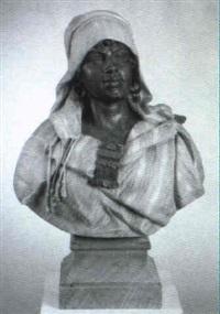 busto di una donna araba by giulio tadolini