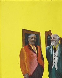 the connoisseur by rosalyn drexler