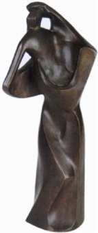 cubist figure by george manuel aarons