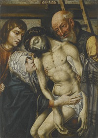 the descent from the cross by antwerp school