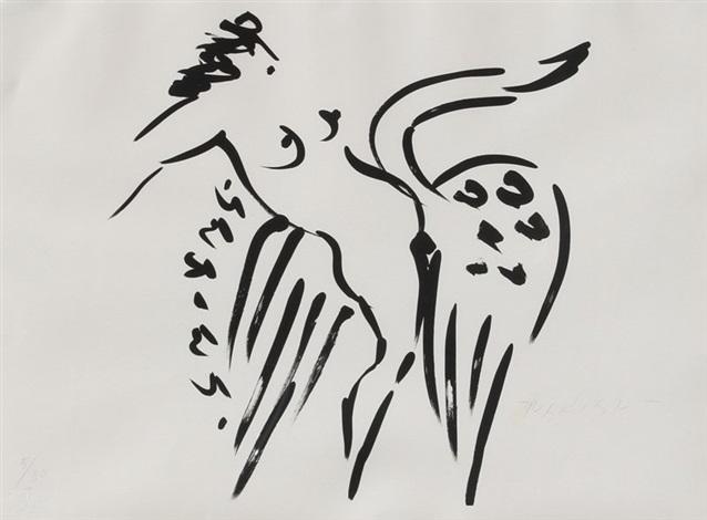 leda and the swan 14 by reuben nakian