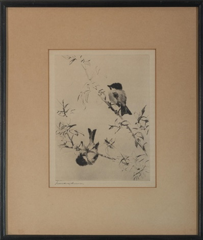 chickadees by frank weston benson