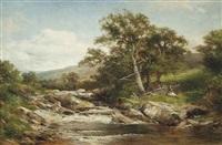glen falloch, above ardlui by david bates