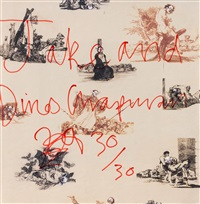 goya wallpaper by jake and dinos chapman