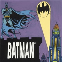 batman by steve kaufman