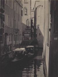 venice canal by karl struss