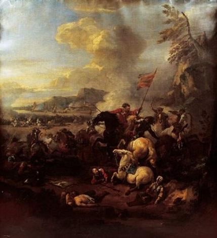 charge de cavalerie by peter tillemans
