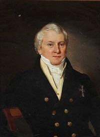 portrait of a gentleman by louis auguste francois aumont