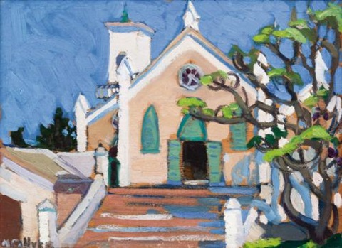 st peter church st georges bermuda by nora frances elisabeth collyer