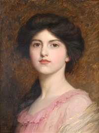 portrait of camille sutton palmer by frank dicksee