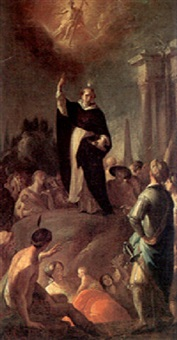 the sermon of a dominican saint by bartholomäus altomonte