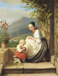the little seamstress by caroline von der embde