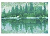 clear lake by shinkichi kaii higashiyama