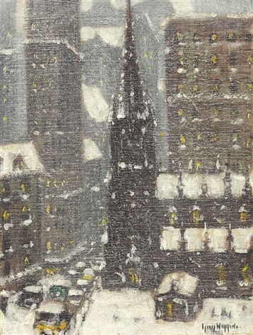 old trinity new york by guy carleton wiggins