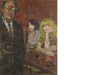 pub scene by ruskin spear