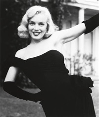 portraits of marilyn monroe, for life magazine (11 works) by edward clark