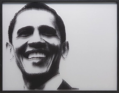 barack obama by paul rusconi