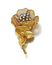 flower brooch by piaget
