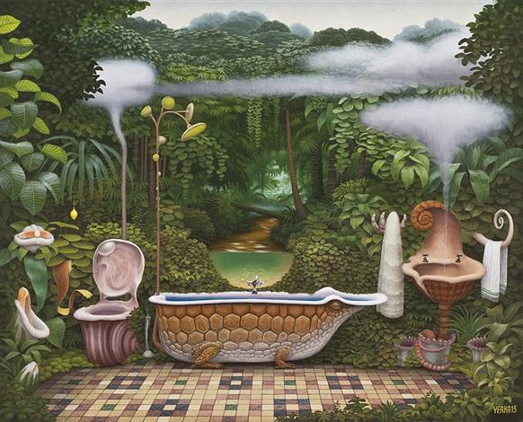 Beau Pocket Jungle   Bathroom By Jacek Yerka