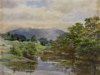 hills in dumfriesshire by james faed