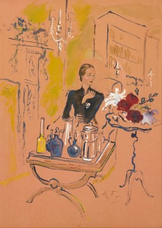 wallis simpson serving cocktails london 20 november by cecil beaton